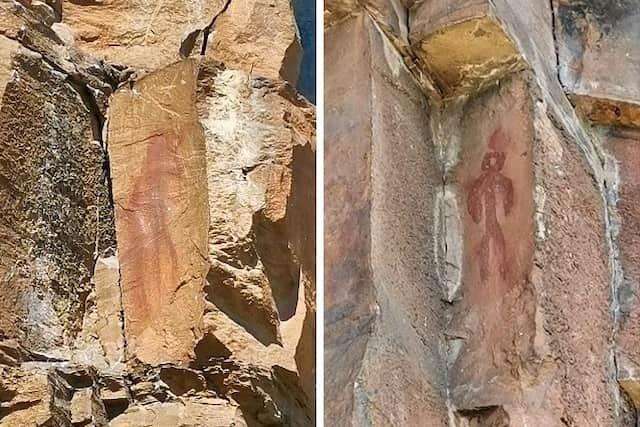 Pinturas rupestres de Sésamo