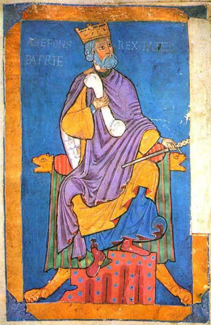 Alfonso VI de León - Imagen de Wikipedia
