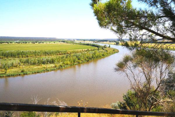 Río Duero a su paso por Castronuño - Destino Castilla y León