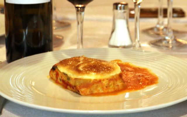 Entrante de Pastel salado de verduras de temporada - Destino Castilla y León
