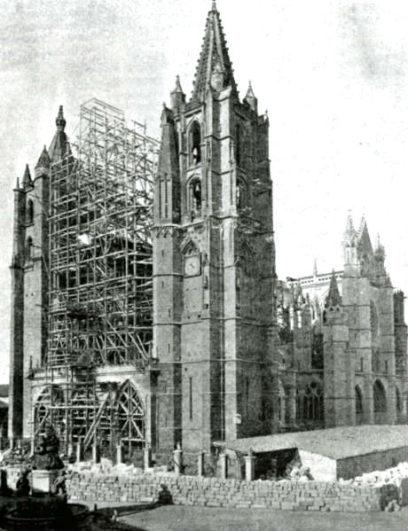 Restauración de la Catedral gótica de León - Imagen de Saber.es