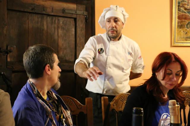 Visita del Chef Juan Andrés - Destino Castilla y León