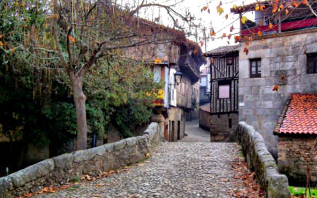 Calles de San Martín del Castañar - Imagen de Mucho Equipaje