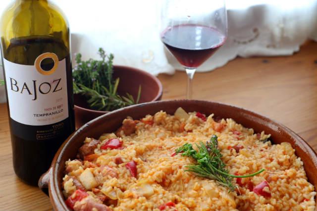Presentación y armonía del arroz a la zamorana - Destino Castilla y León