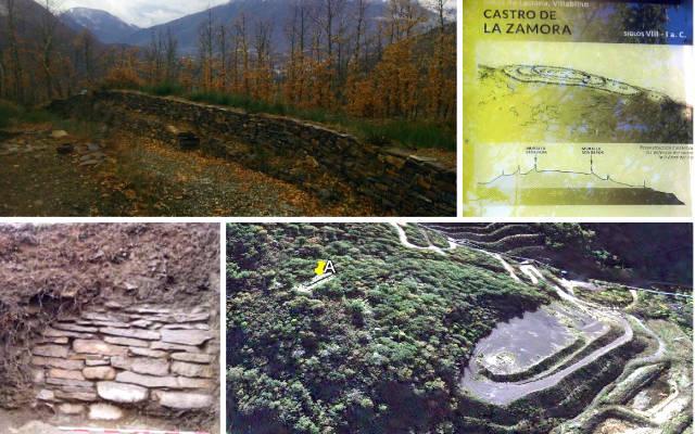 Restos arqueológicos del castro astur de La Zamora - Destino Castilla y León