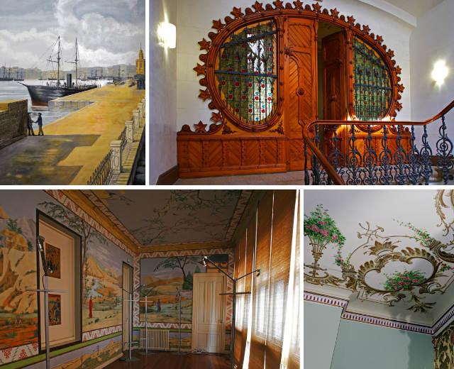 Interior de la Casa de Solita - Composición de Destino Castilla y León