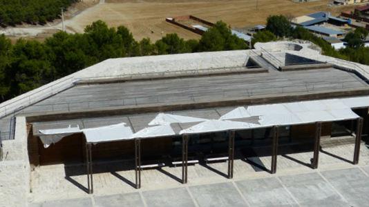 Instalaciones de la cervecera en el Castillo de Iscar - Destino Castilla y León
