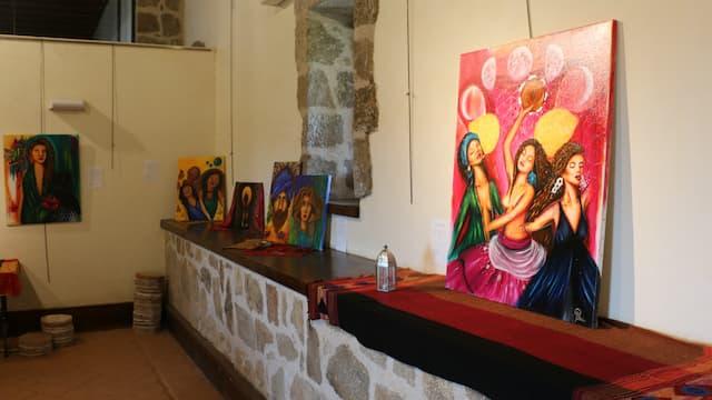 Exposición temporal de arte en el Castillo de La Adrada - Destino Castilla y León