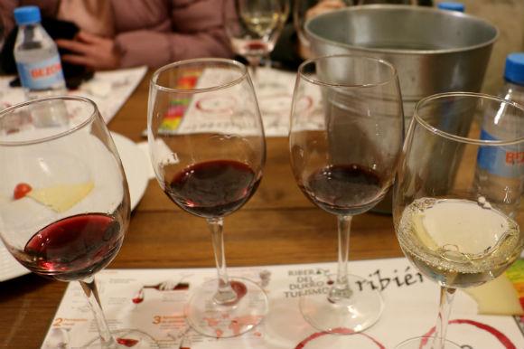 Degustación de otros vinos del Grupo Tudanca - Imagen de A Tavola con il Conte