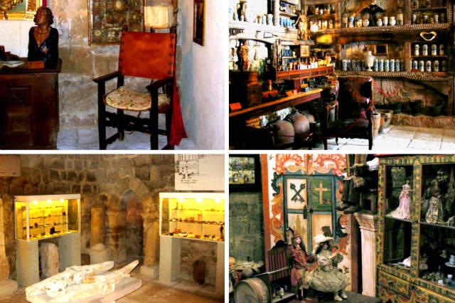 Salas y piezas de las colecciones Eugenio Fontaneda en el Castillo de Ampudia - Composición de Destino Castilla y León
