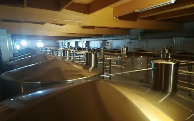 Depositos de elaboración de vinos blancos - Destino Castilla y León