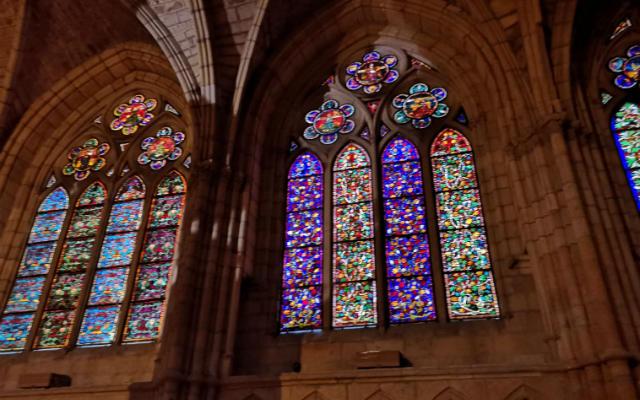 Vidrieras de la Catedral de León - Destino Castilla y León
