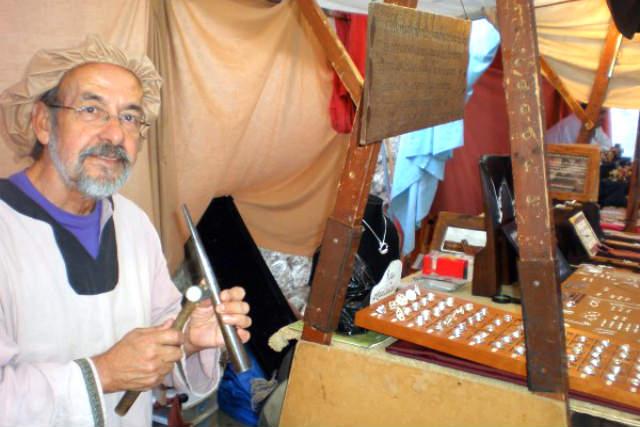 Artesanos del mercado medieval - Imagen de CIT
