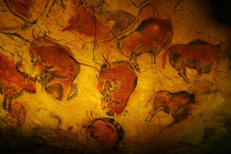 Bisontes de Altamira - Imagen de TrabajandoHistoria