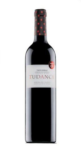 Botella de vino Tinto roble de Vinos Tudanca