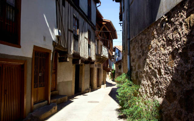 Calles de Sequeros - Imagen de Pupilas Gustativas