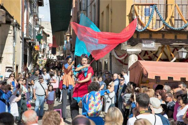 Calles del Mercado Medieval de Tordesillas - Imagen CIT