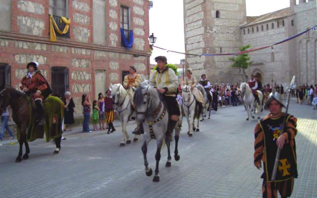 Carlos V llegando a Mojados - imagen de El Dia de Valladolid