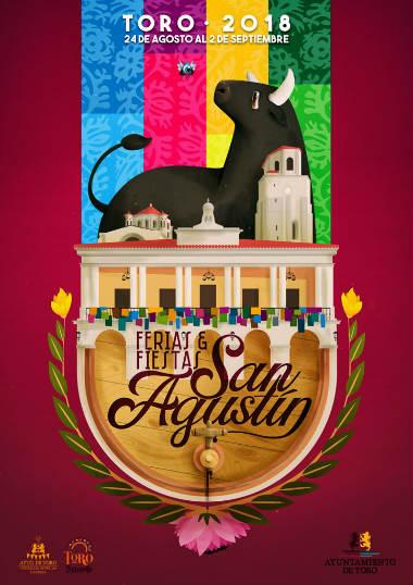 Cartel de las Ferias y fiestas de San Agustín 2018
