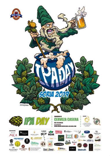 Cartel del Concurso IPA Day 2019 en Soria