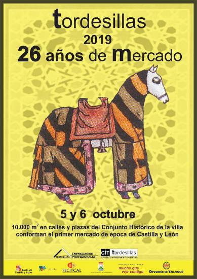 Cartel del Mercado Medieval de Tordesillas 2019