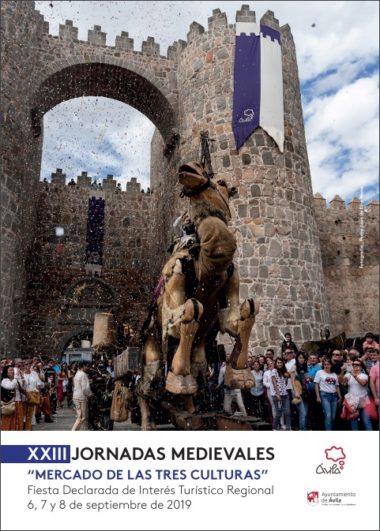 Cartel oficial del Mercado AvilaMedieval 2019
