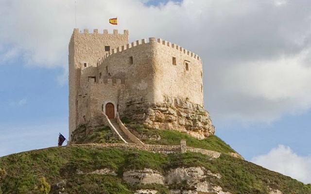 Castillo de Curiel - Imagen del Blog del Castillo de Curiel