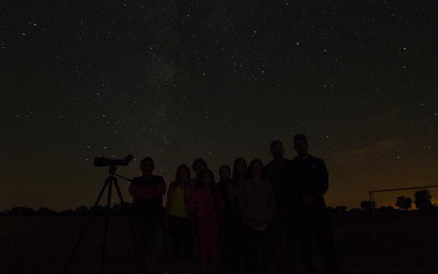 Cielos estrellados ideales para la observación astronómica