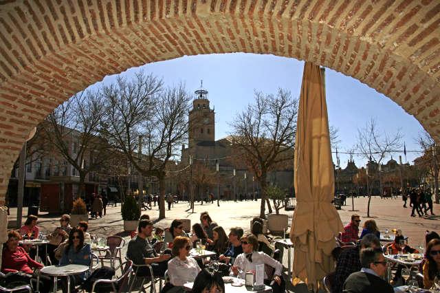 Comer en Medina del Campo - Imagen de Cardinalia