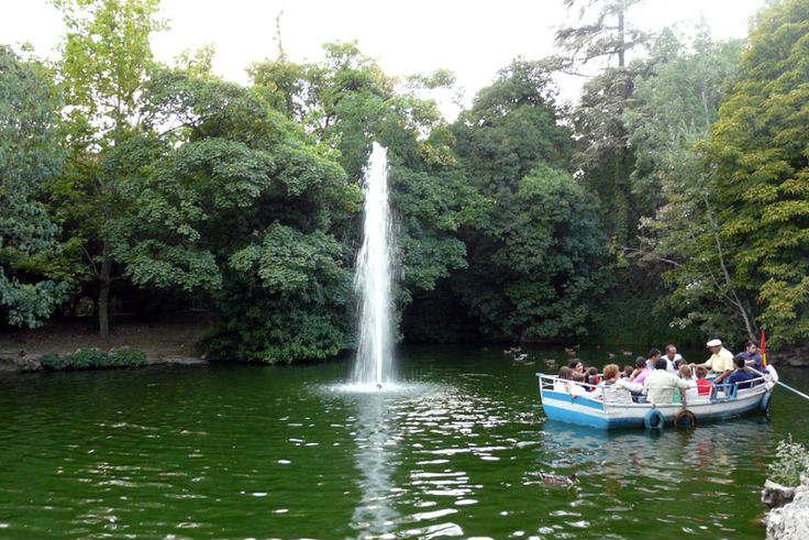 Estanque del Campo Grande con su barquero - Imagen de ElOsoViajero