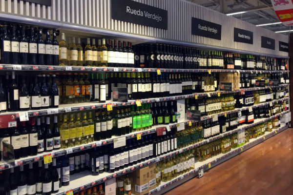 Gran Superficie de vinos