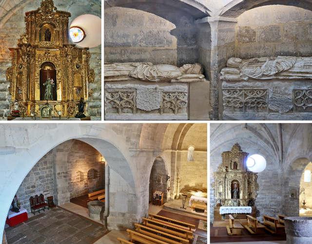 Interior de la Iglesia de San Miguel de Trigueros del Valle - Imágenes de Arte Patrimonial