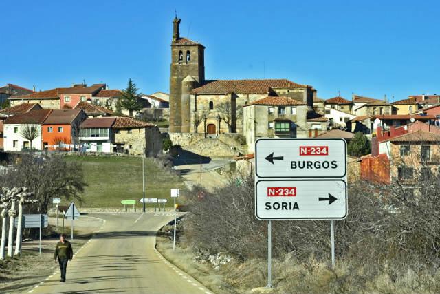 Llegando a Abejar - Imagen de Marca