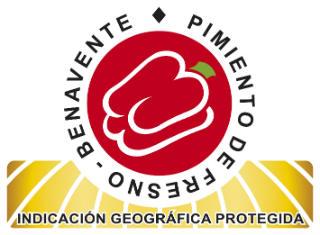 Logo de la IGP Pimientos de los Valles de Benavente
