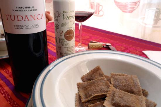 Maridaje del vino tinto roble Tudanca - Destino Castilla y León