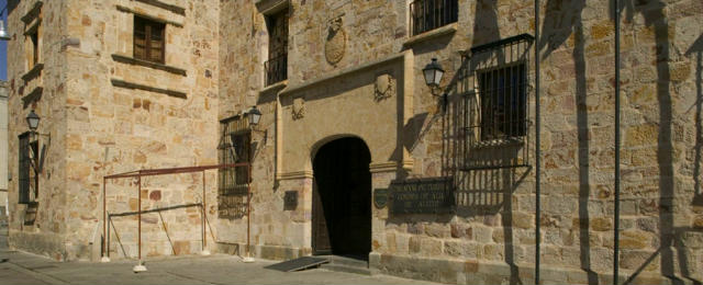 Parador de Zamora, en la plaza de Viriato
