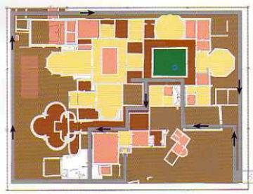Plano de la villa romana de Almenara-Puras