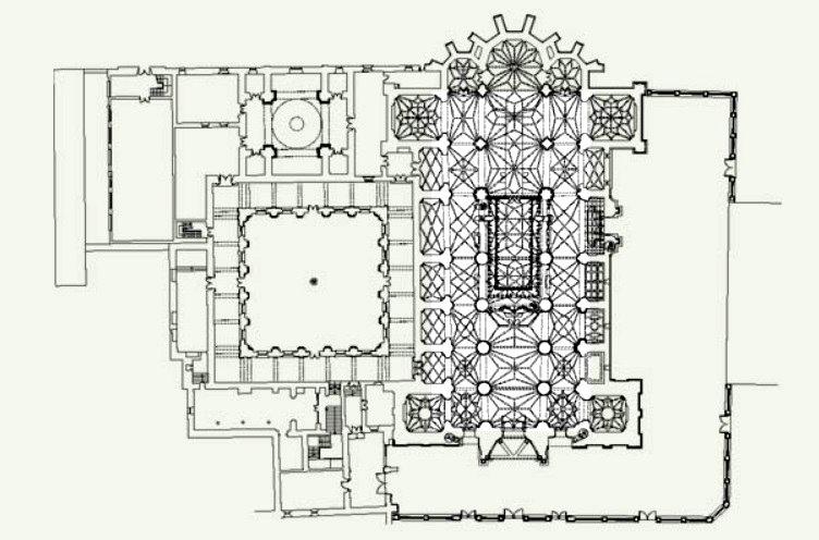 Planta de la Catedral de Astorga