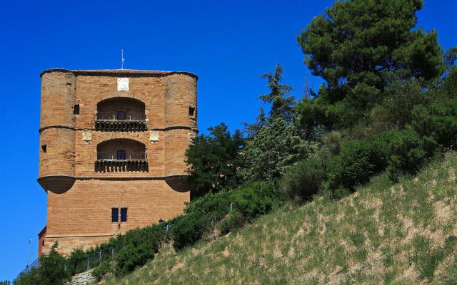 Torre del Caracol desde abajo de la colina de Benavente - Imagen de Cardinalia