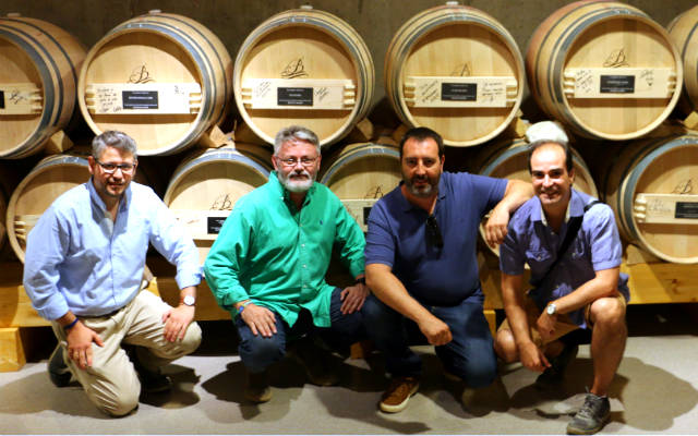 Equipo de amantes del vino que nos juntamos - Destino Castilla y León