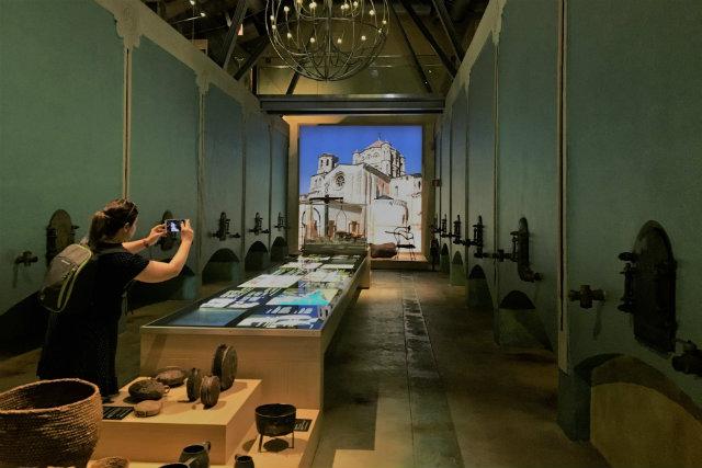 interior del Museo del Vino Pagos del Rey - Destino Castilla y León