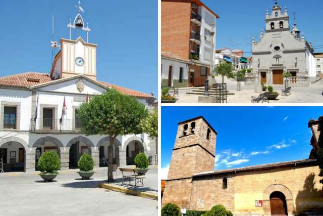 Lugares de interés en El Tiemblo - Composición de Destino Castilla y León