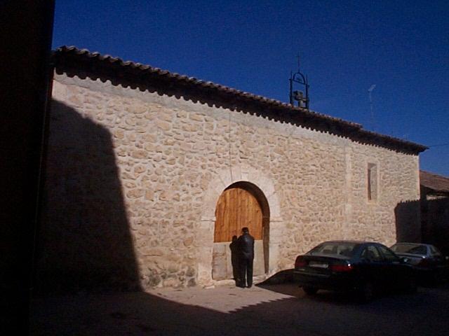 Ermita de San Roque en el propio casco urbano de Gumiel de Izán - Imagen del Ayto.