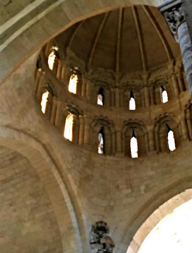 Interior del cimborrio de la Colegiata de Toro - Destino Castilla y León