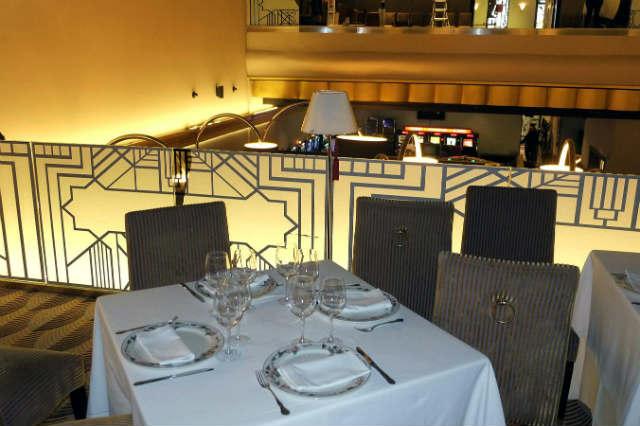 Espacio gastronómico del Casino Roxy - Imagen de El Norte de Castilla