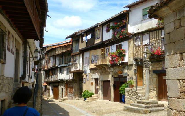 Mogarraz, la otra Alberca e igualmente impresionante - Destino Castilla y León