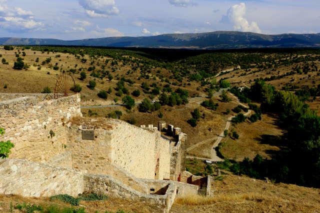 Mirador de la muralla en la torre albarrana - Destino Castilla y León