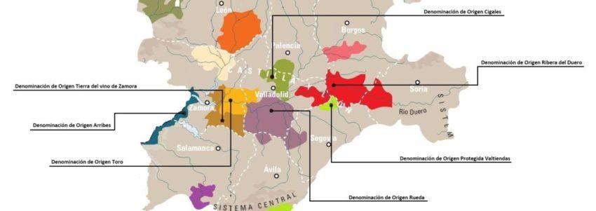 Denominaciones de Origen en el Duero por Castilla y León - Destino Castilla y León