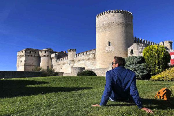 Exterior del Castillo de Cuéllar - Imagen de Cardinalia