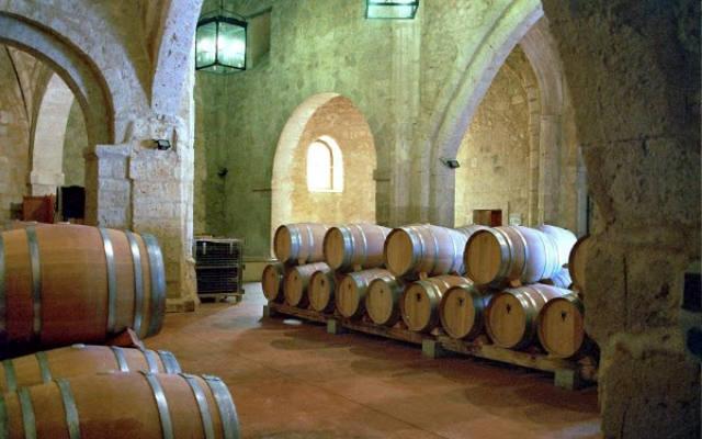 Sala de Barricas en la Iglesia de San Martín - Imagen del Blog del Castillo de Curiel